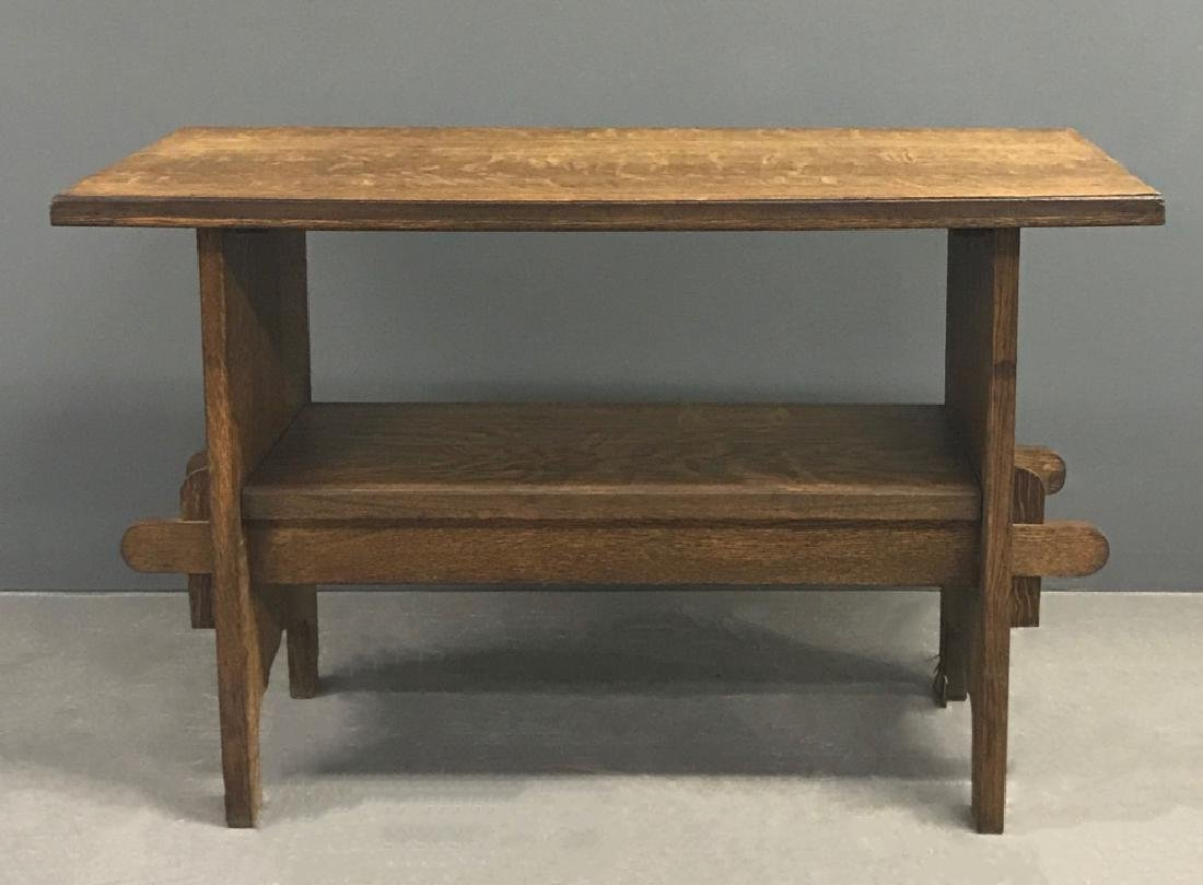 Arts & Crafts Mission Oak Table