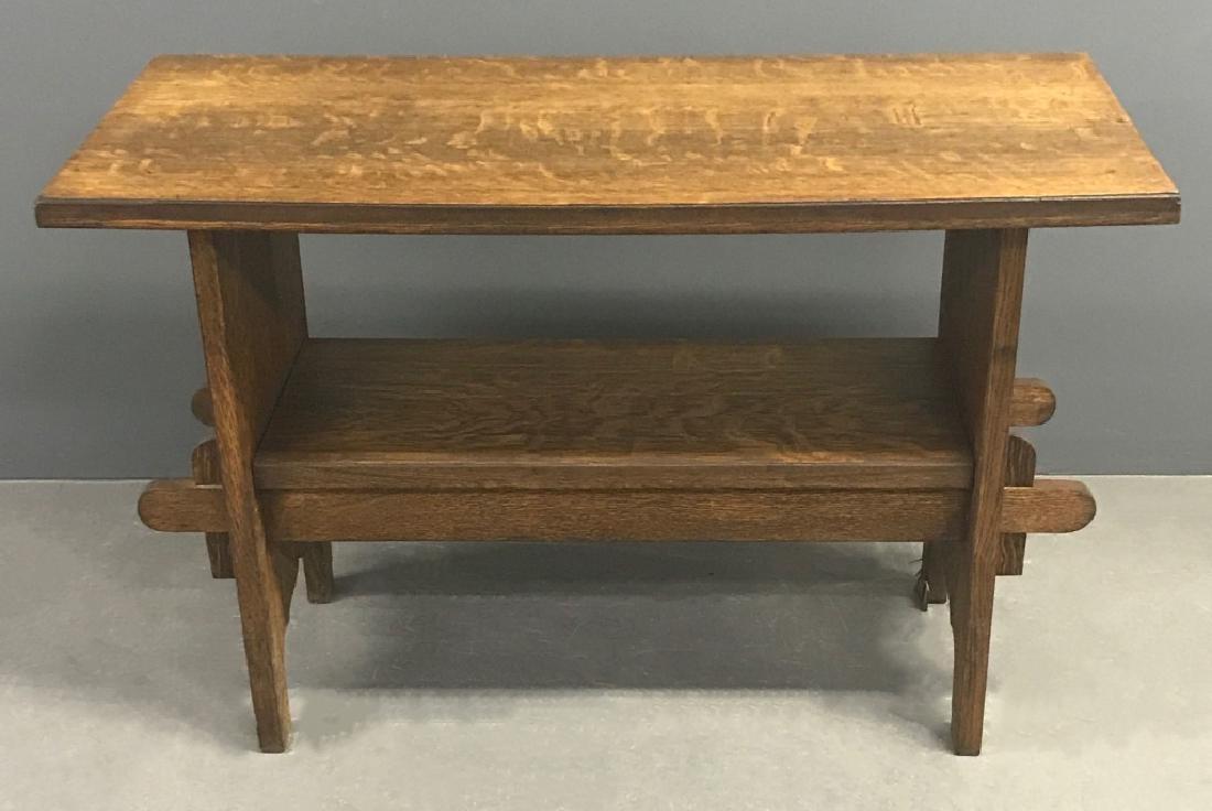 Arts & Crafts Mission Oak Table - 2