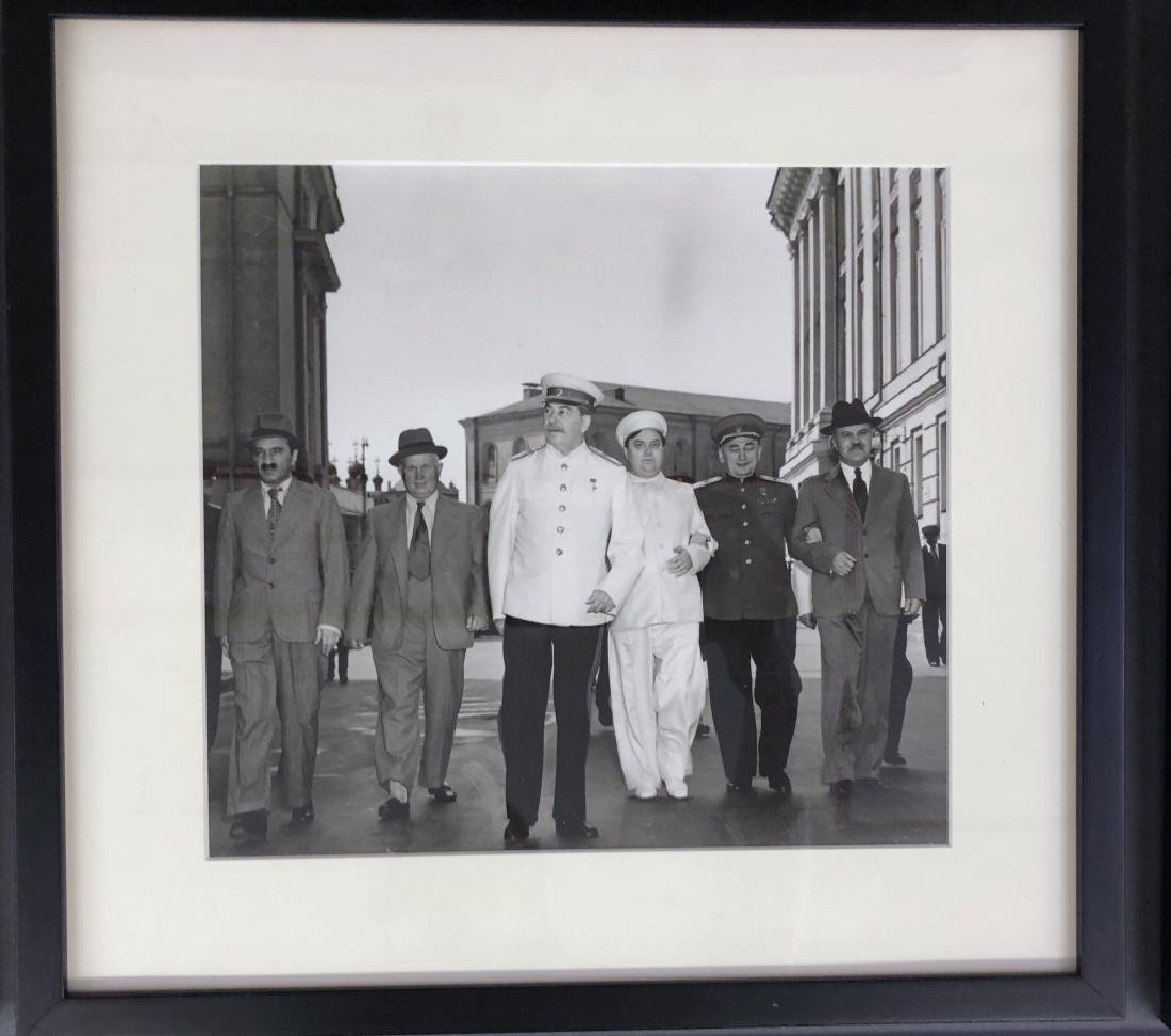 Five WWII Photos of Stalin, Roosevelt, Churchill - 3