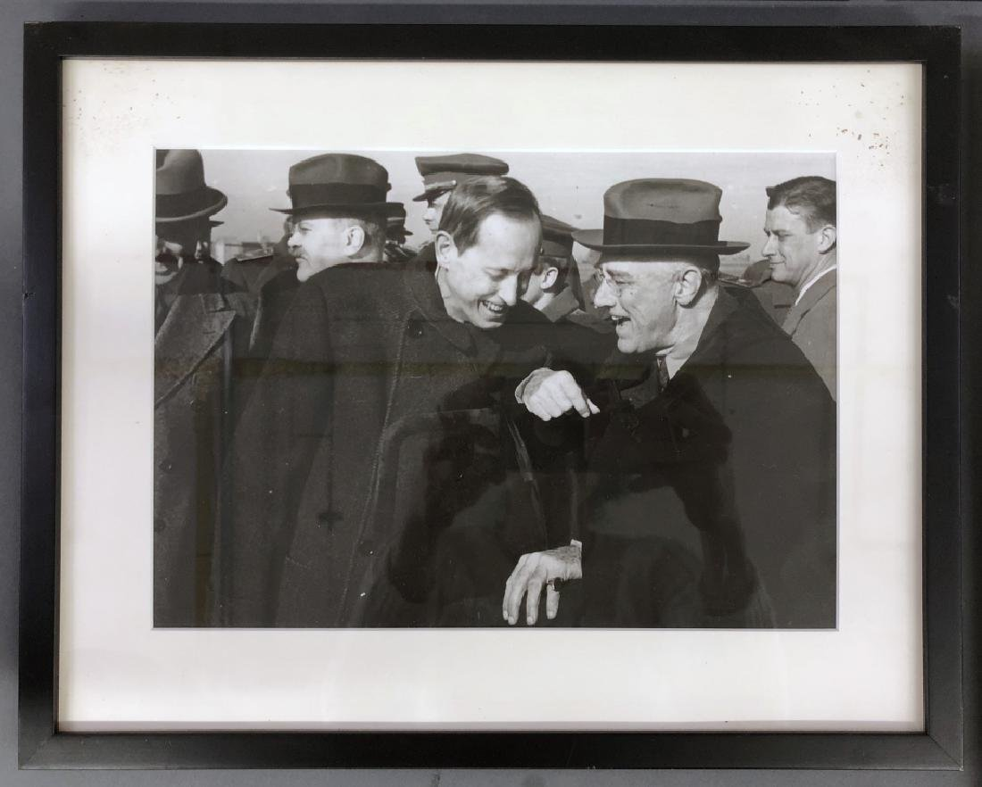 Five WWII Photos of Stalin, Roosevelt, Churchill - 5