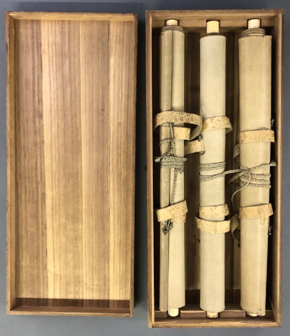 Boxed Set of Japanese Scrolls - 3