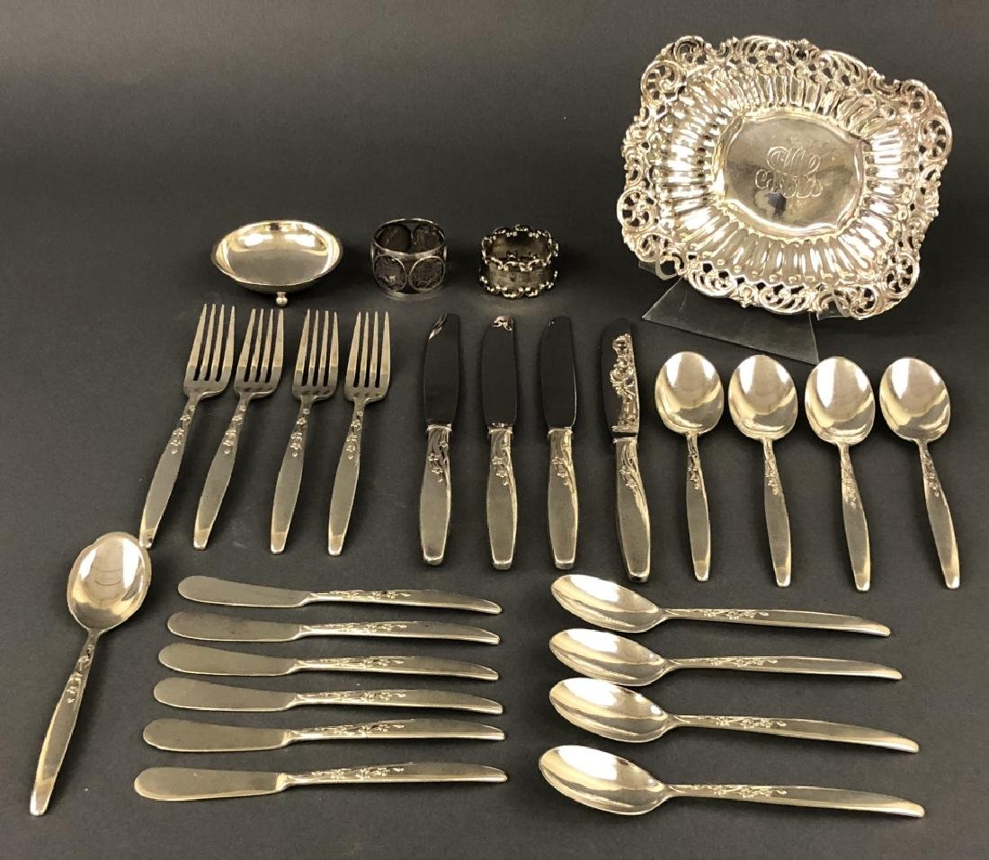 Sterling Silver Tableware