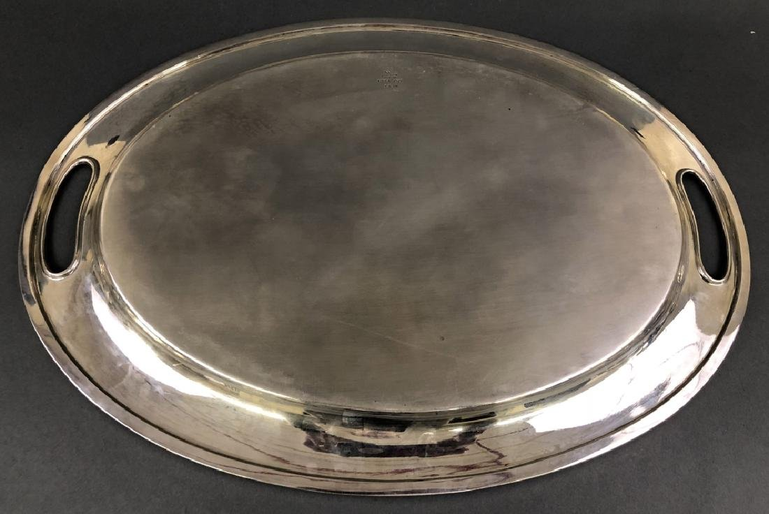 Reed & Barton Sterling Silver Oval Tray - 2