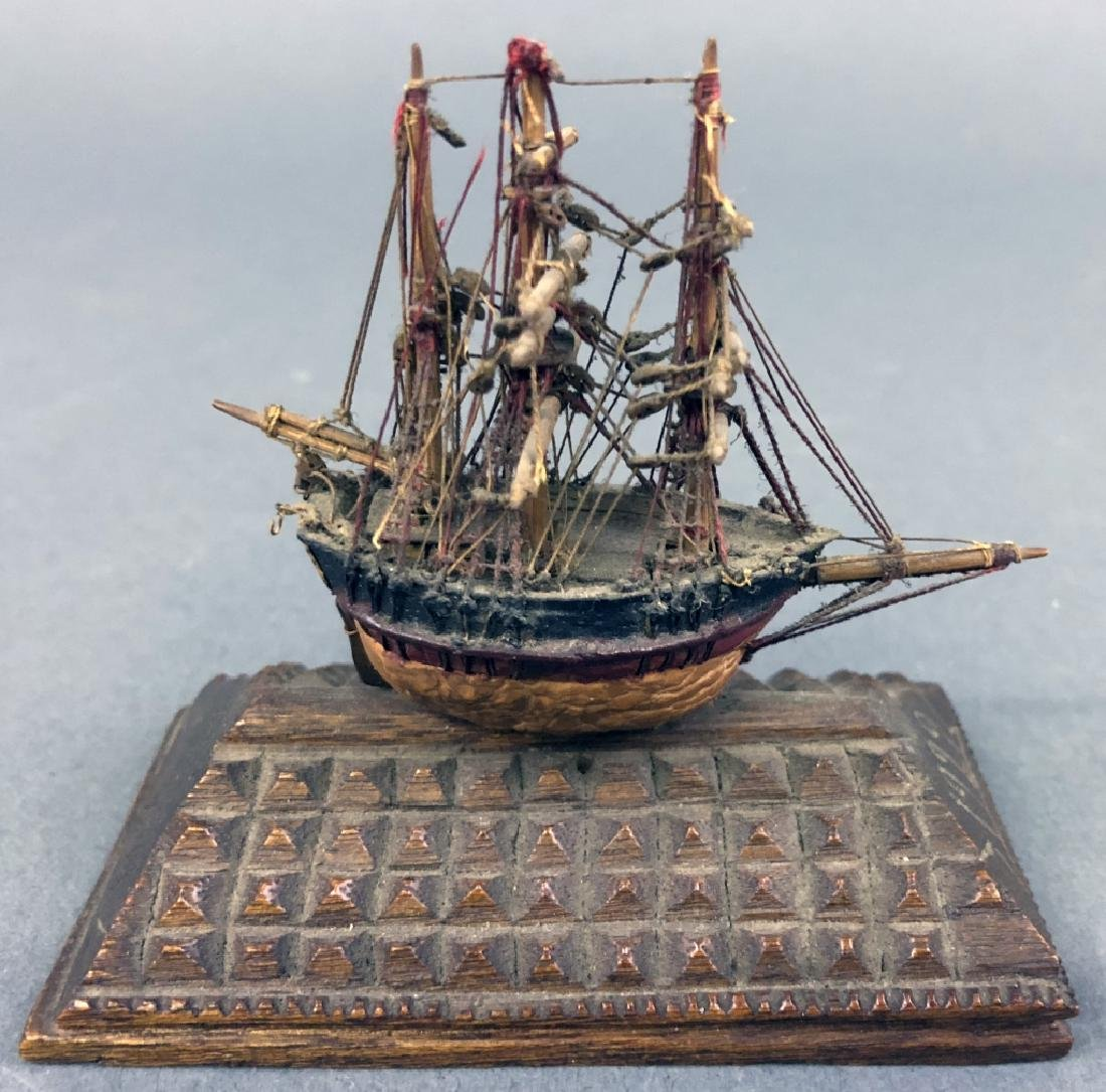 "Miniature Ship Model ""President Hoover"""