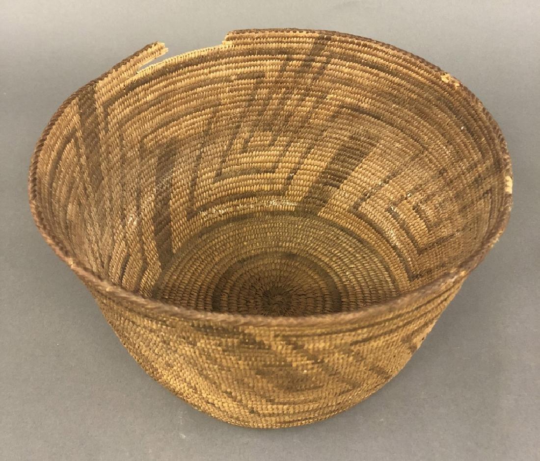 Southwest Indigenous American Woven Basket