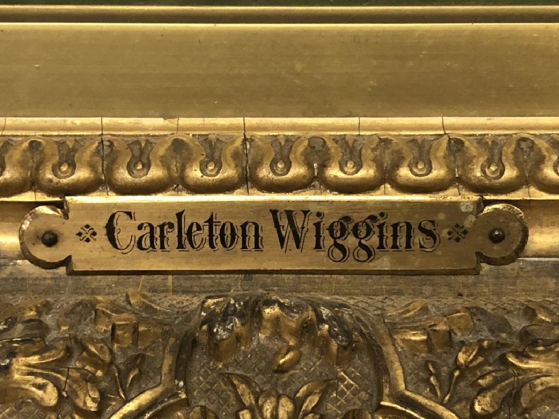 Carleton Wiggins Oil on Canvas of Cows - 3