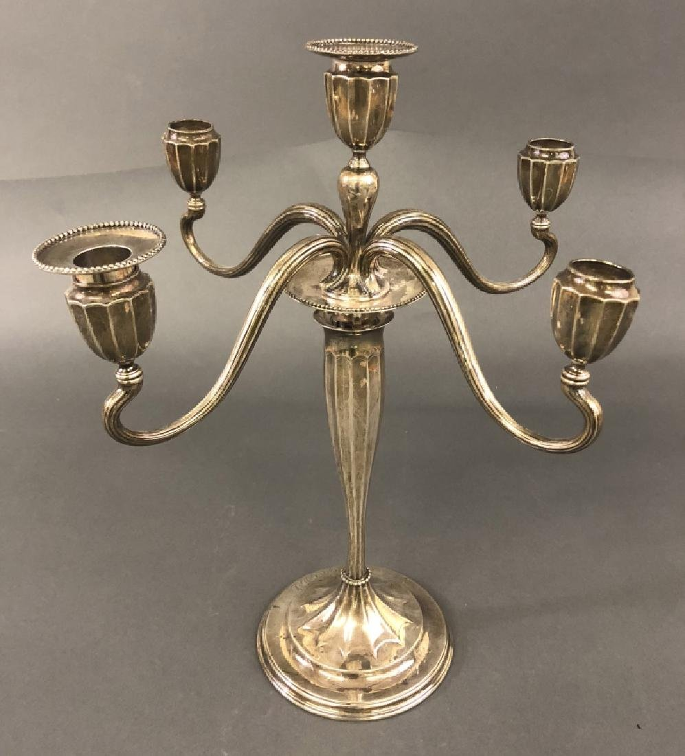 Tiffany & Co. Sterling Silver Candelabra