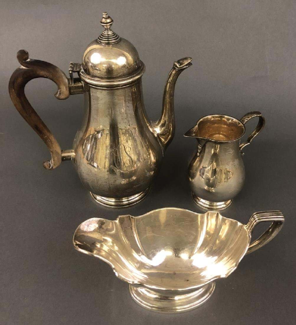 Sterling Silver Coffee Pot Grouping