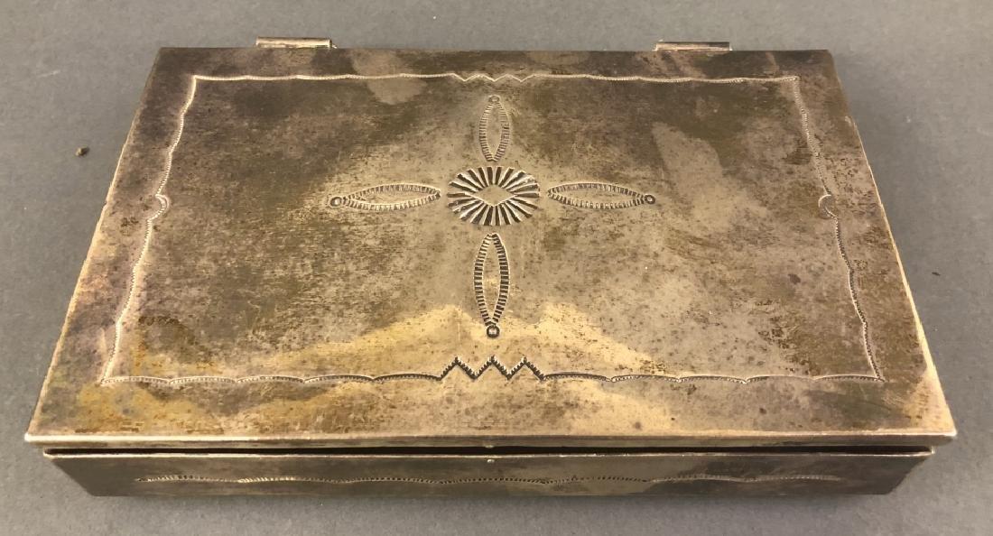 Mexican Silver Box