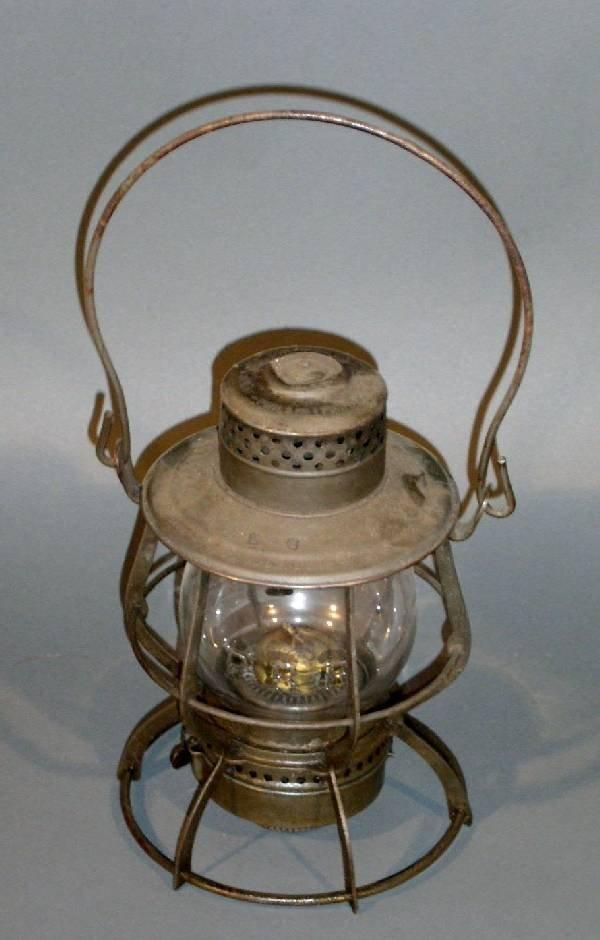 3: Railroad lantern, Keystone Lantern Co., pat. 1902 &