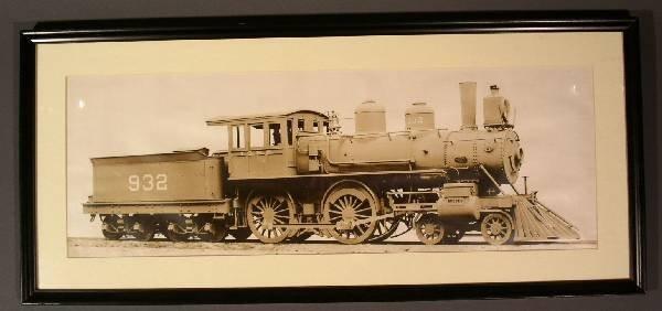 13: Builder's photo print, Rogers Locomotive Works. 9.5