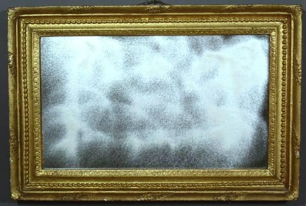 "332: Gilt framed mirror. 27""x18"""