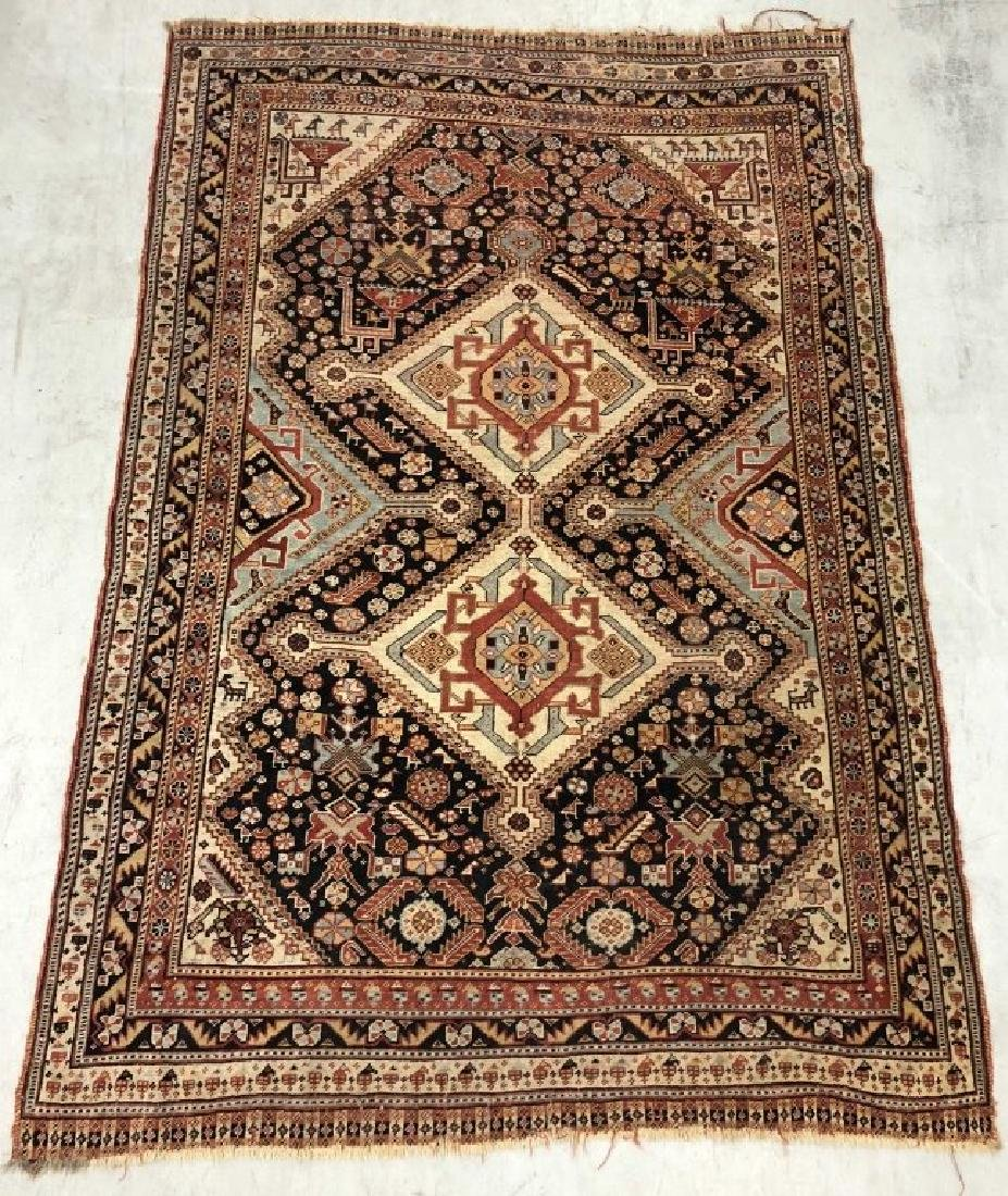 Tribal Caucasian Carpet