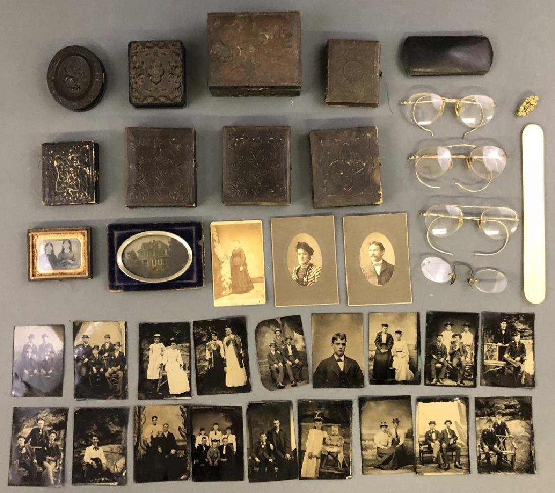 Collection of Daguerreotypes and Tintypes - 2