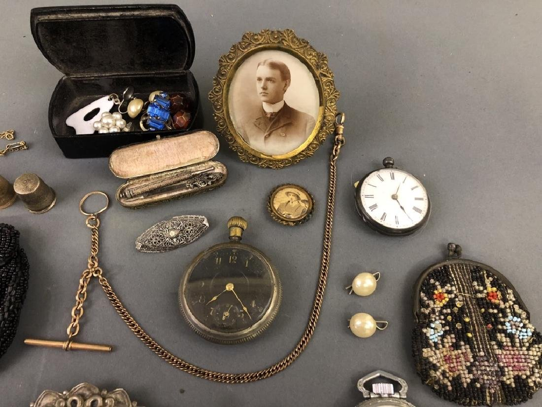 Grouping of Vintage Jewelry, etc. - 2