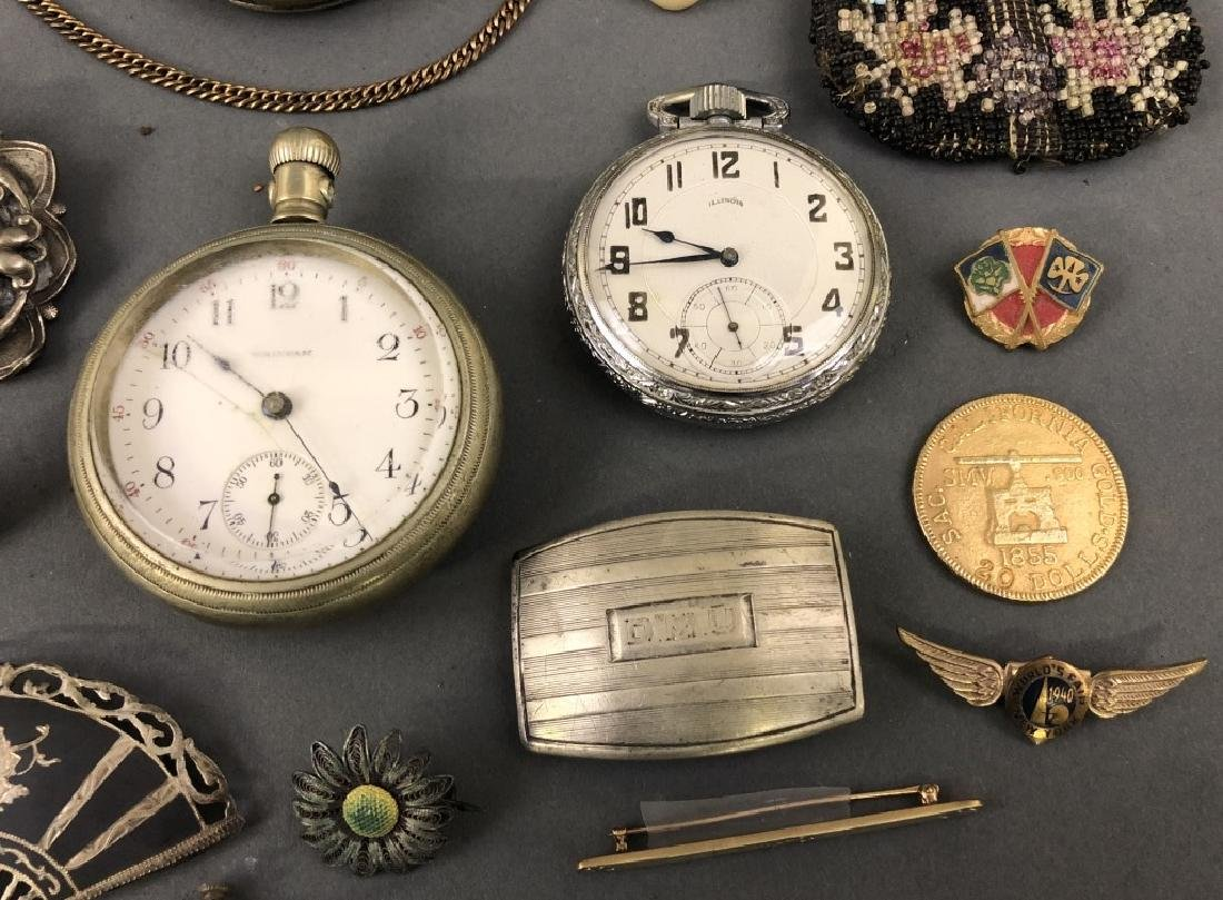 Grouping of Vintage Jewelry, etc. - 3