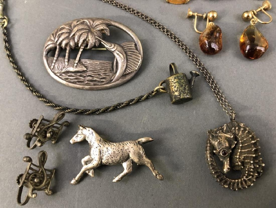 Grouping of Vintage Jewelry, etc. - 6