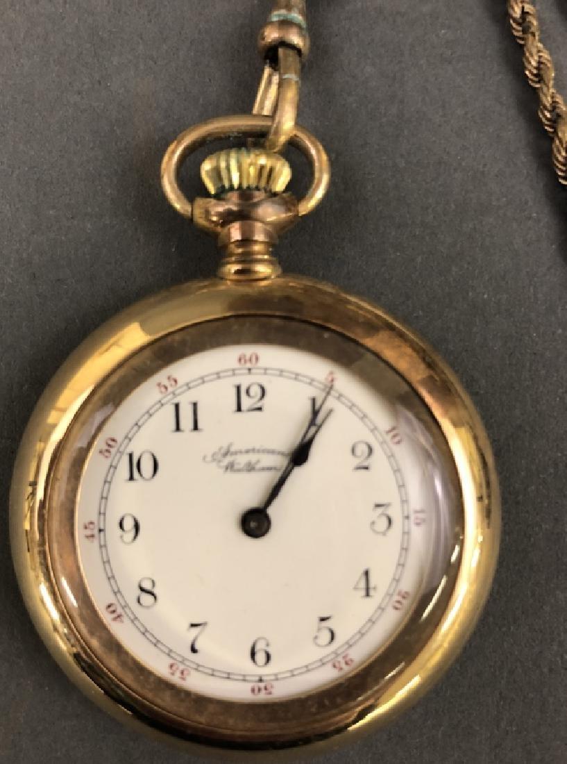 14K Gold Waltham Pocket Watch - 2