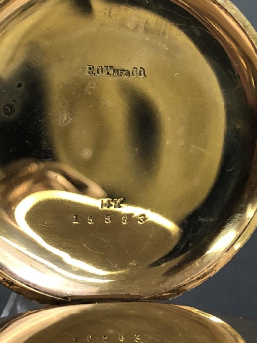 14K Gold Waltham Pocket Watch - 3