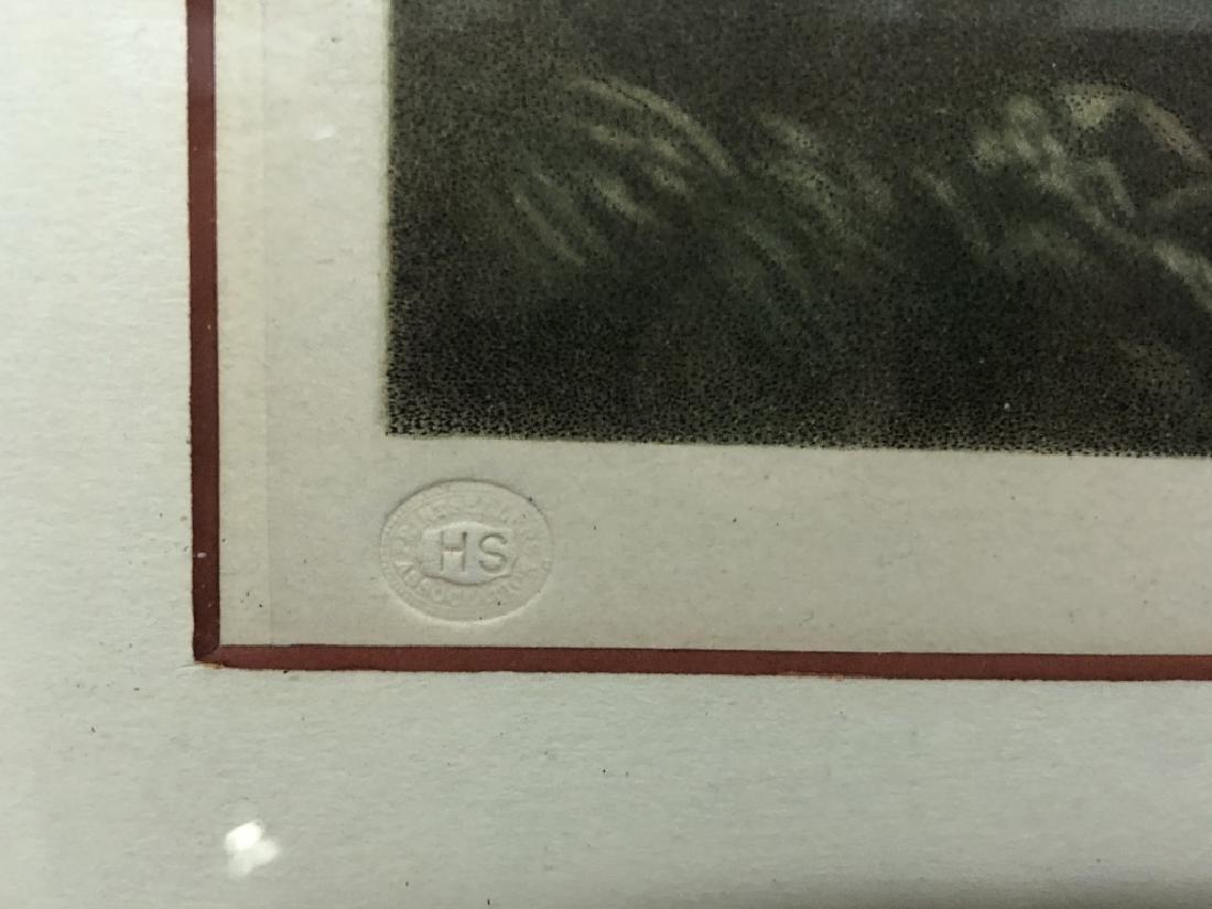 """Edward Jackson Stodart Signed Engraving """"Pinkie"""" - 5"""