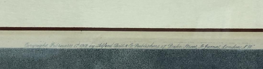 """Edward Jackson Stodart Signed Engraving """"Pinkie"""" - 6"""