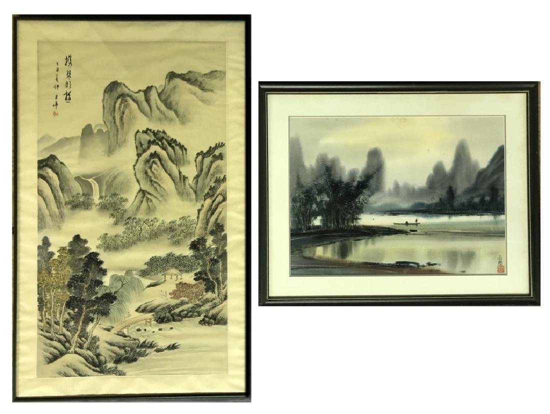 Two Asian Paintings