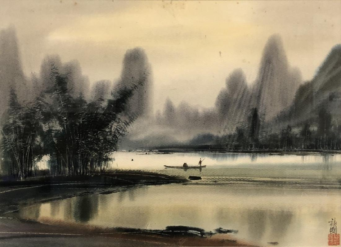 Two Asian Paintings - 4
