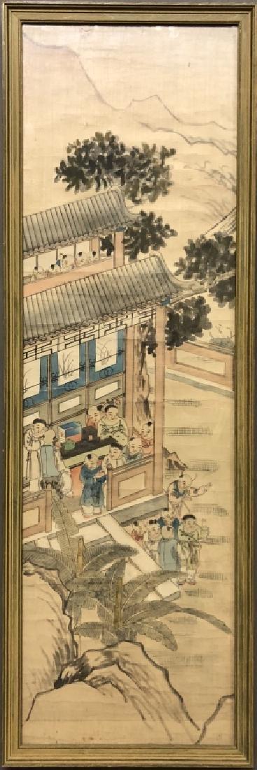 Chinese Painting on Silk & Silkwork of Birds - 2