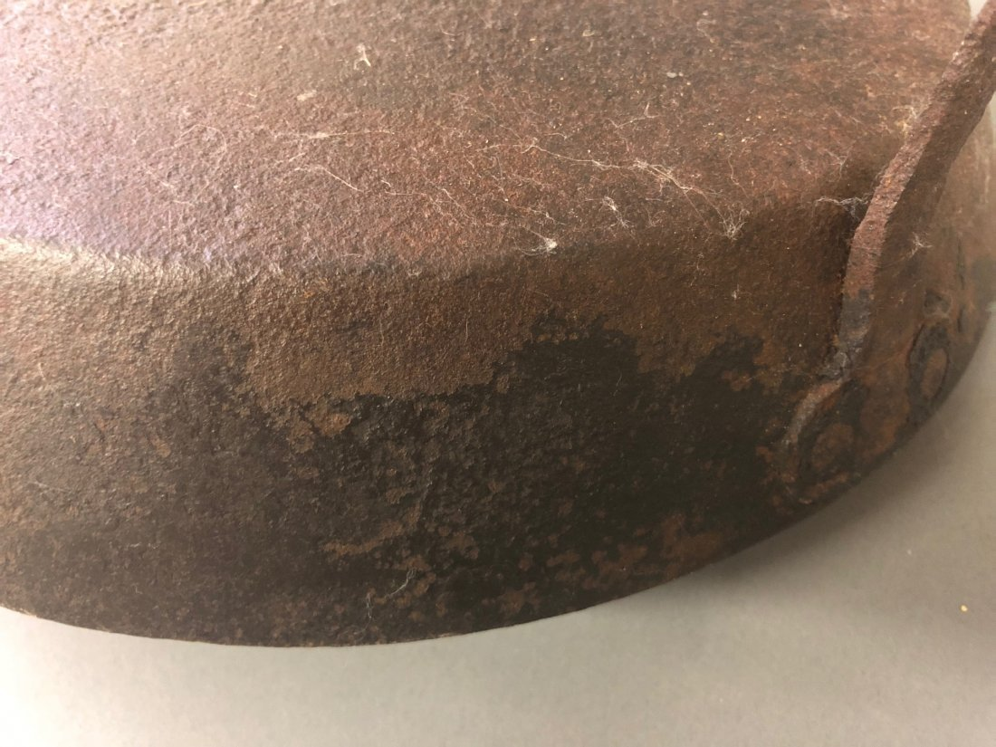 Iron Skillet Signed W. Foster - 10