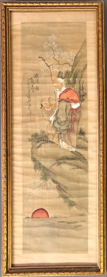 Two Asian Paintings - 2