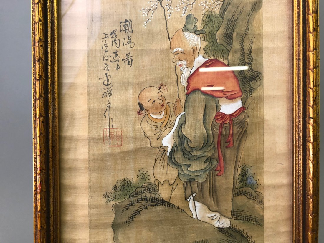Two Asian Paintings - 8