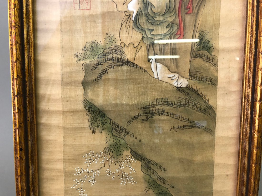 Two Asian Paintings - 9