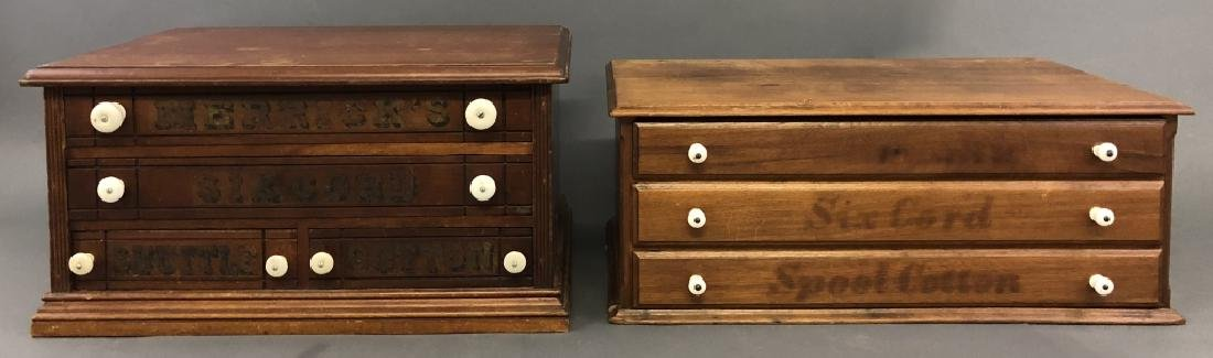 Two Spool Cabinets