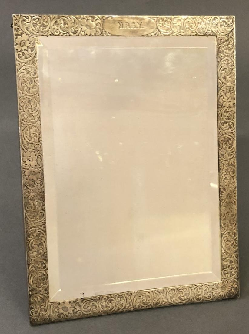 Tiffany & Co. Sterling Silver Framed Mirror