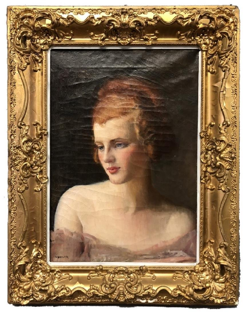 Kirkpatrick Portrait of a Woman with Red Hair