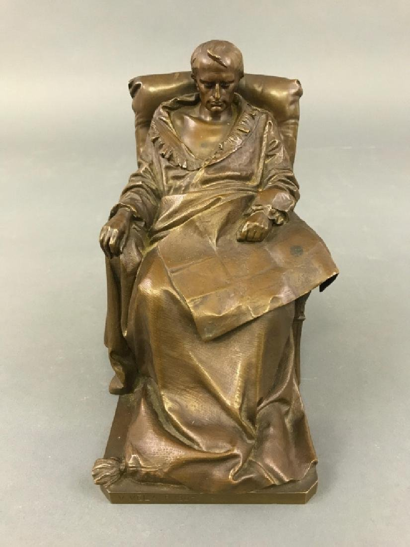 "Vincenzo Vela Bronze ""The Last Days of Napoleon"""