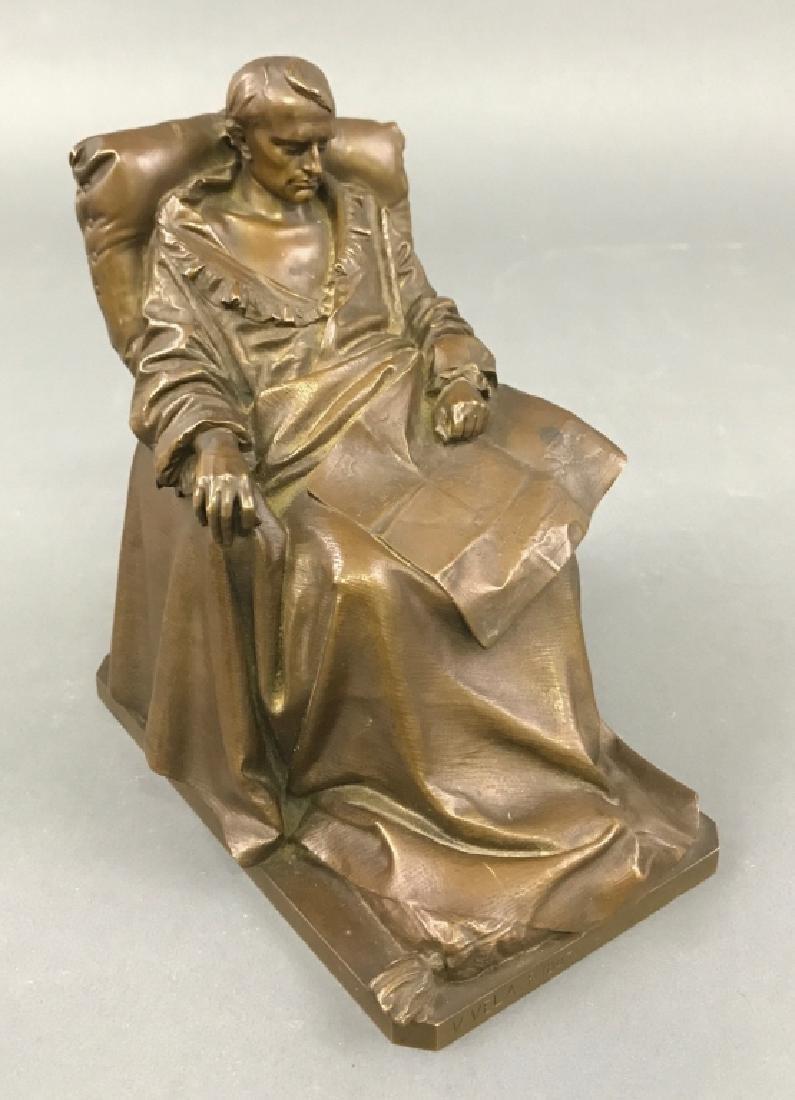 "Vincenzo Vela Bronze ""The Last Days of Napoleon"" - 2"