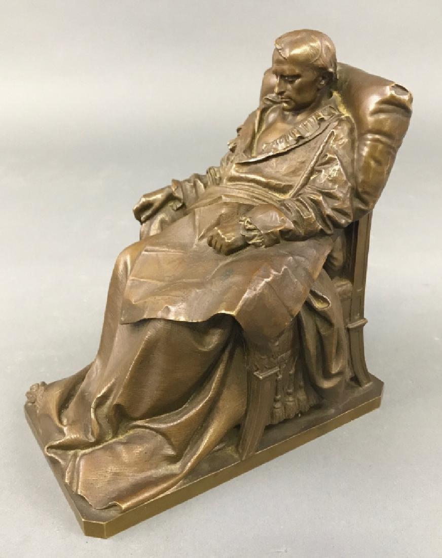 "Vincenzo Vela Bronze ""The Last Days of Napoleon"" - 3"