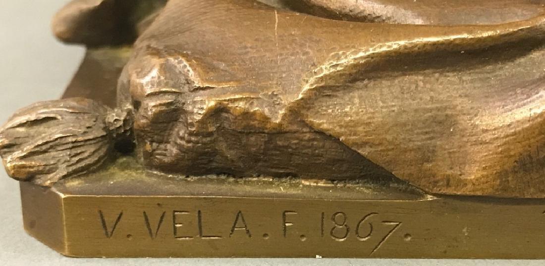 "Vincenzo Vela Bronze ""The Last Days of Napoleon"" - 6"