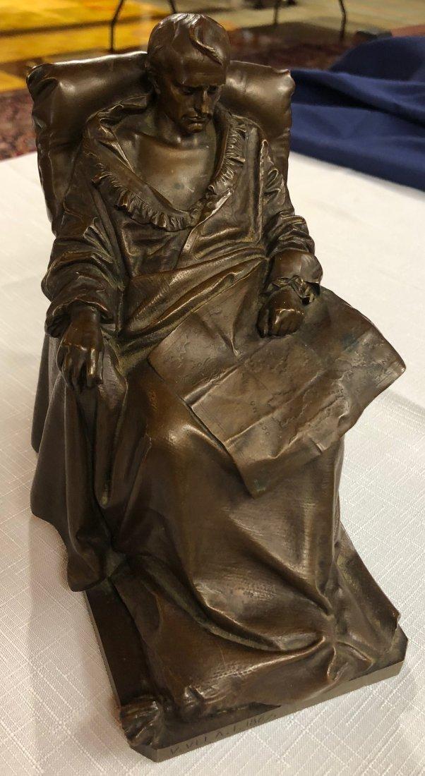 "Vincenzo Vela Bronze ""The Last Days of Napoleon"" - 8"