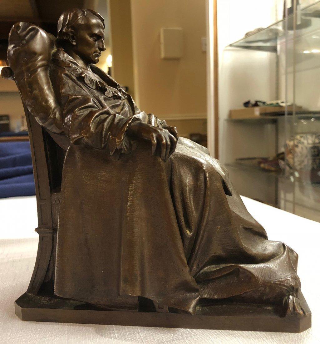 "Vincenzo Vela Bronze ""The Last Days of Napoleon"" - 9"