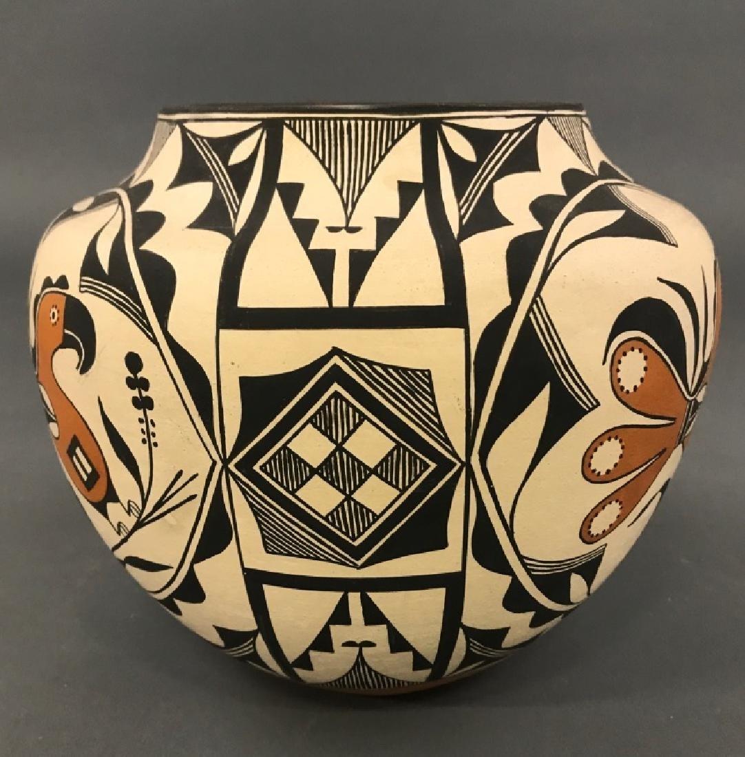Acoma Pueblo Fertility Vase by Florence Aragon - 2
