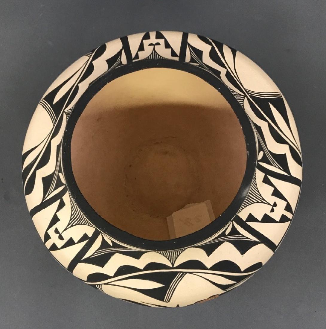 Acoma Pueblo Fertility Vase by Florence Aragon - 3