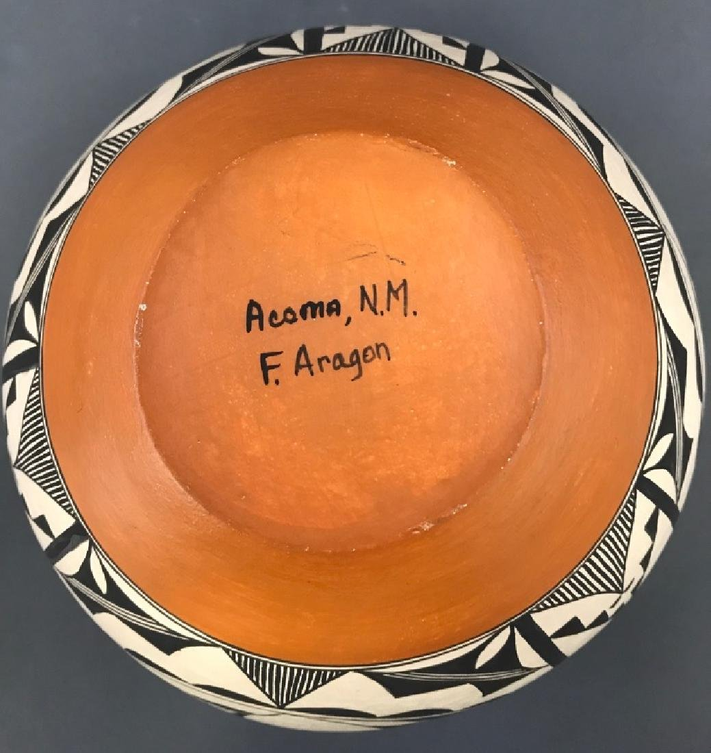 Acoma Pueblo Fertility Vase by Florence Aragon - 4