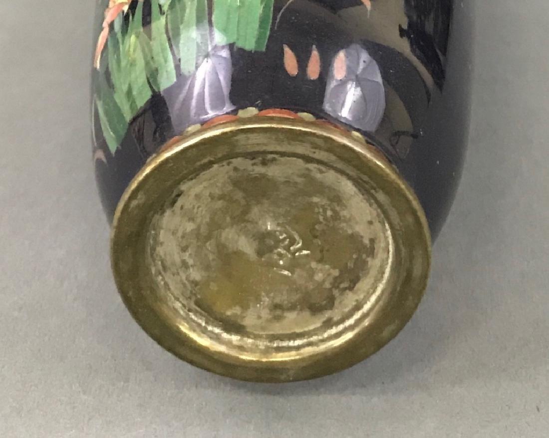 Six Cloisonne Vases - 2