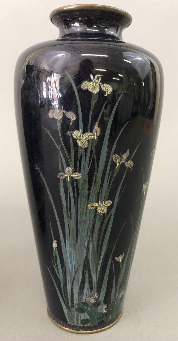 Six Cloisonne Vases - 7