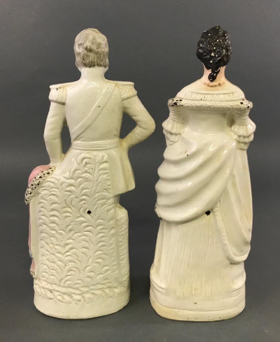 Large Staffordshire King & Queen of Prussia - 3