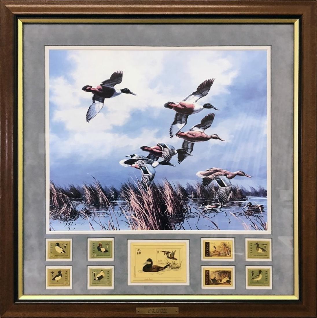 Four David Maass Duck Prints - 4