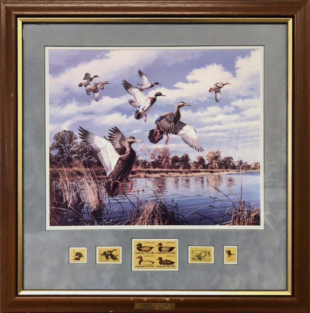 Four David Maass Duck Prints - 5
