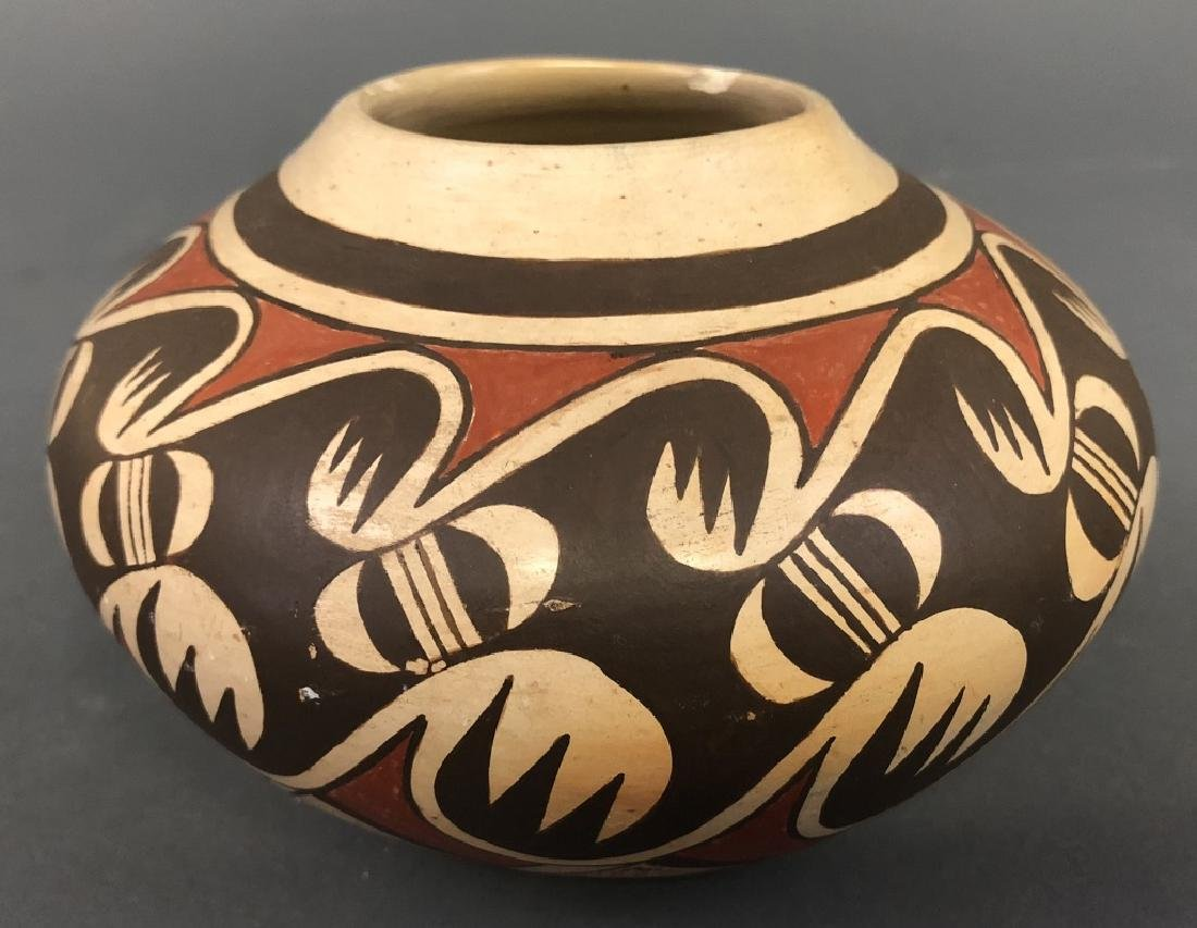 Fannie Nampeyo Signed Hopi Tewa Bowl